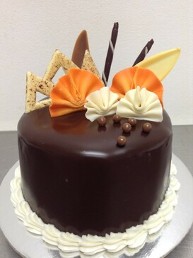 "SPECIAL - 5"" Elegant Jaffa Mud Cake"