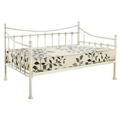 CHANTILLY 3FT SINGLE FRENCH STYLE METAL DAY BED