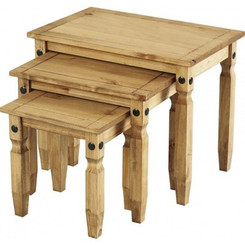 Corona Set of Three Tables