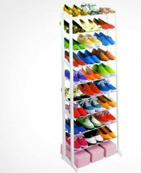 Ten Tier Shoe Rack