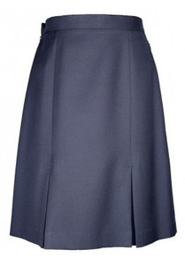 Skirt - 2 Pleat, Navy