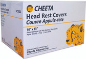 CHEETA 10 x 10 Headrest Cover 500/cs