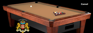 Simonis 760 Billiard Cloth, 9 foot cut with bed and rails