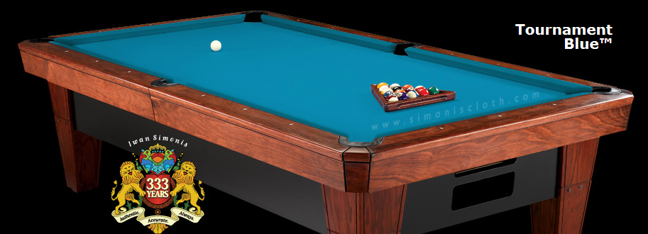 Simonis 860hr billiard cloth 10 foot cut with bed and for 10 ft table cloth