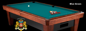 Simonis 300 Rapide Billiard Cloth, 10 foot cut with bed and rails