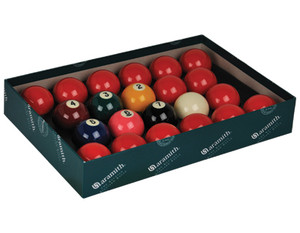 "Aramith Premier 2 1/8"" Snooker Set With Numbers"