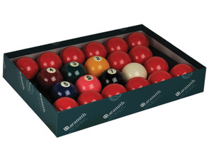 "Aramith Premier 2 1/4"" Snooker Set With Numbers"