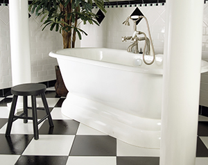 Bath Tub Stickers and Anti Slip Bathtub Treatment - Slip Resistant ...