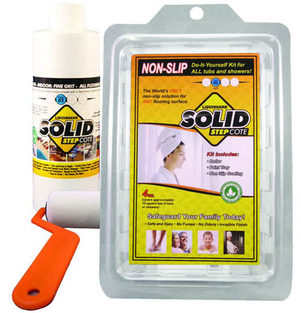 Non Slip Sealer for slippery shower floors