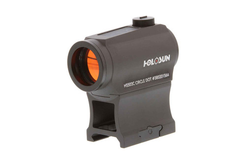 Holosun Paralow 2 MOA Red Dot With Circle Reticle Sight Solar Powered  HS503C 	760921087589