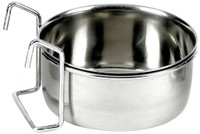 Classic Pet Products Hook-on 600ml Stainless Steel Coop Cup