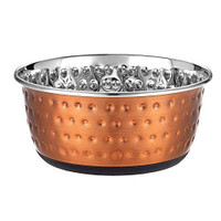 Classic Pet Products Luxury Copper Embossed Stainless Steel Dish 950ml