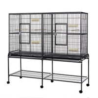 Elegance Double Metal Large Flight Cage