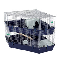 Indoor Double Corner Cage Rabbit & Guinea Pig by Little Friends