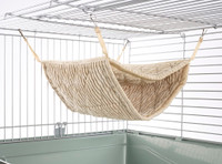 Giant Double Bunkbed Hammock Luxury Cream
