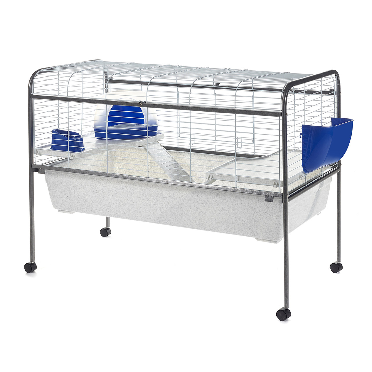 Little friends aston indoor rabbit cage with stand 120cm for Large indoor guinea pig cages