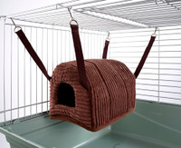 Cuddle Up Rat Chinchilla Igloo Luxury Chocolate