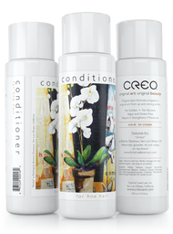 """Conditioner for Fine Hair (12oz) featuring """"Orchid"""" by Brianna Deveraux"""