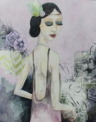 """Stella""  Artist's Glicee Print"