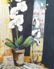 """Orchid""  Artist's Glicee Print"