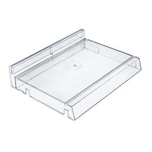 "Modular Adjustable Cosmetic Tray (Clear) 12"" Wide"