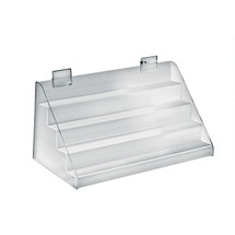"Four-Tier Counter Step Display: 16""W x 8""D x 8""H"