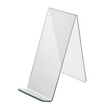 """4.5""""W x  9.5""""D x 10.5""""H Easel Display. Front Lip: 1.75""""H"""