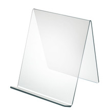 """9""""W x  9.5""""D x 10.5'H  Easel Display. Front Lip: 1.75""""H"""