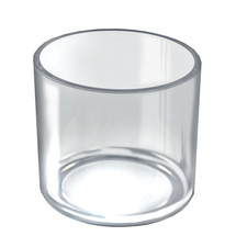"6"" x 6"" Deluxe Clear Cylinder"
