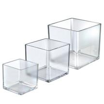 """4"""", 5"""", 6"""" Wide Deluxe Cube Bin Set"""