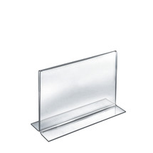 "11""W x 8.5""H Double-Foot Two Sided Sign Holder"