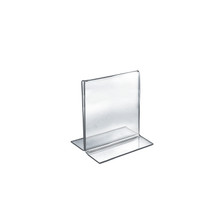 """5.5""""W x 7""""H Double-Foot Two Sided Sign Holder"""