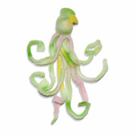 Honeysuckle Fleece Octopus
