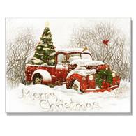 "64320-CR - ""Vintage Christmas Tree Truck"""