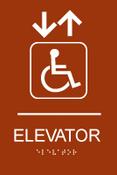 Elevator ADA Sign