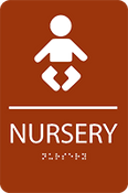 Nursery ADA Sign