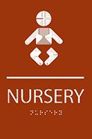 Nursery ADA Sign