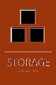 ADA Storage Sign