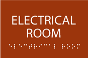 ADA Electrical Room Sign