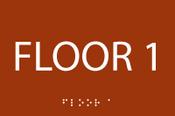 Floor 1 First ADA Sign