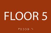 ADA Floor 5 Sign