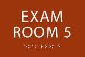 Exam Room 5 ADA Sign