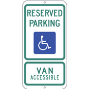 Texas Handicap Reserved Parking Sign