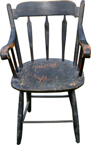 2933 Early Thumb Back Arm Chair