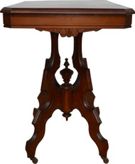 2952 Walnut Victorian Parlor Stand