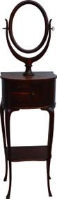 17089 Mahogany Gentleman's Shaving Mirror Stand