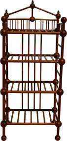 17100 Unusual Stick and Ball Bookcase / Pie Rack