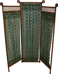 17116 Stick and Ball Oak Dressing Screen