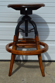 SOLD Telephone or Drafting revolving Operators Stool