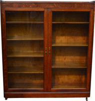 SOLD Oak Two Bookcase Grand Rapids